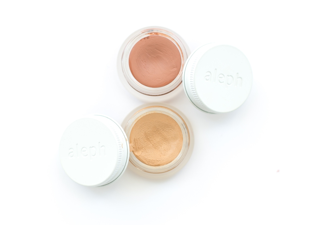 Aleph Beauty Concealer/Foundation in 3.0 and Cheek/Lip Tint in Grounded