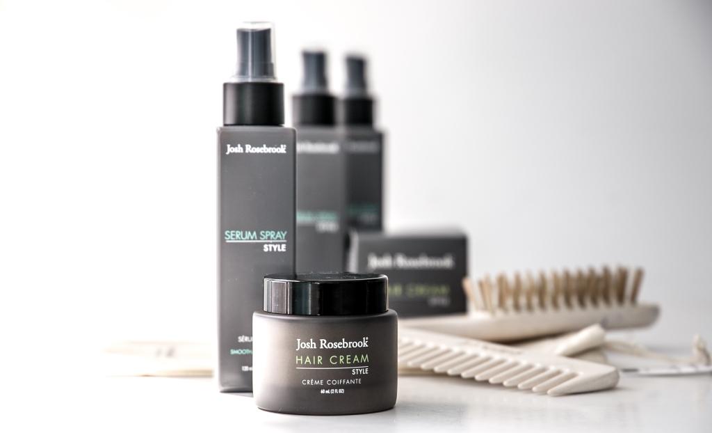 Josh Rosebrook Hair Care review, Serum Spray and Hair Cream