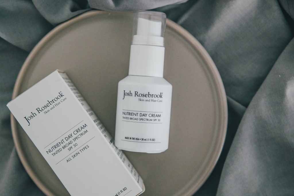 Josh Rosebrook Nutrient Day Cream Tinted SPF 30 review