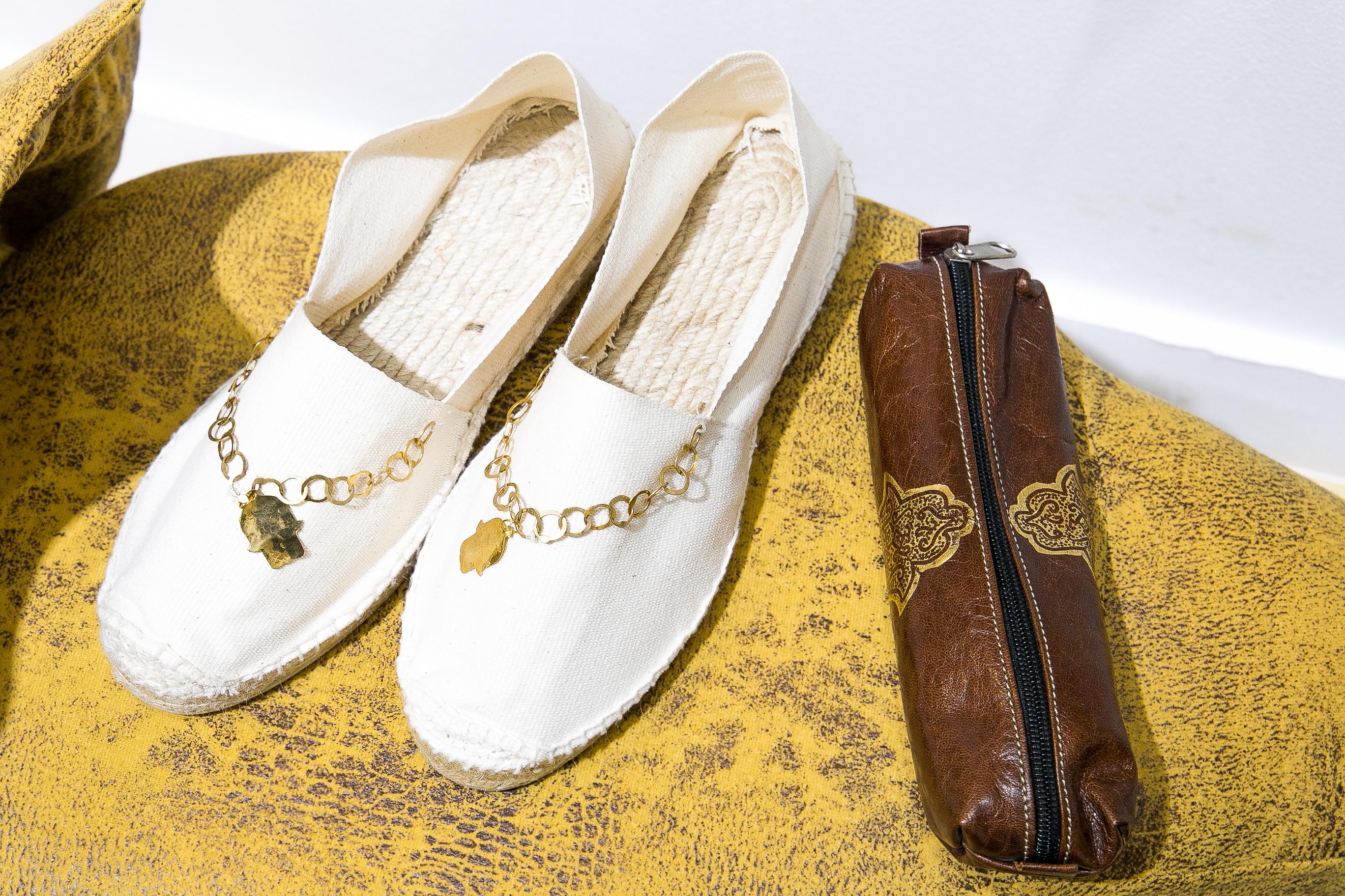 Khomssa handcraft espadrilles, espadrilles, slow fashion, sustainable fashion, eco-friendly fashion, buy espadrilles, buy espadrilles Dubai