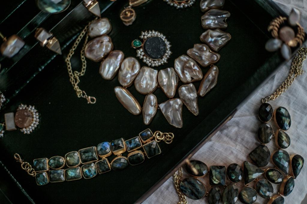 Dori jewelry - ethical & sustainable 18k gold plated using semi-precious stones in Dubai, UAE